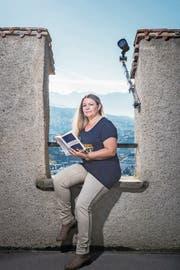 Monika Mansours Krimi «Luzerner Totentanz» spielt sich bei der Museggmauer (im Bild) ab. (Bild: Roger Grütter (Luzern, 17. Oktober 2017))