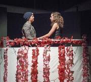 Verbotene Liebe: Das Theater der Kanti Willisau widmet sich dieses Jahr einem zeitlosen Thema. (Bild: Pius Amrein (Willisau, 17. Oktober 2017))