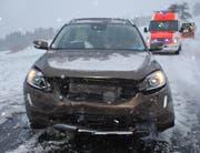 Beim Unfall entstand ein Sachschaden von mehreren tausend Franken. (Bild: Luzerner Polizei)