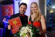 Tagessieger Sparte Special Act: Ronja Borer & Nico Alesi. (Bild: PD / Kurt Meier)