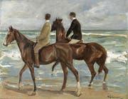 Wurde als Raubkunst deklariert und 2015 zurückgegeben: «Zwei Reiter am Strand» von Max Liebermanns, vollendet im Jahr 1901. (Bild: wikipedia.org)