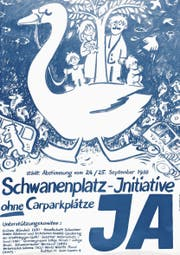 Das Abstimmungsplakat von 1988 zeigt: Manche Themen der Grünen sind heute noch genau so aktuell wie damals. (Bild: PD)