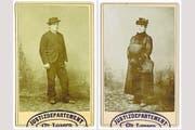Ferdinand Gatti ermordete im Jahr 1891 die Primarschullehrerin Margaritha Degen. Nach der Tat floh er in den Kleidern seines Opfers. (Bilder: Staatsarchiv Luzern, AKT 313/1956)