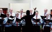 Der Männerchor Hagendorn bietet in der Mehrzweckhalle Hagendorn ein abwechslungsreiches Programm. (Bild: Stefan Kaiser (24. Januar 2018))