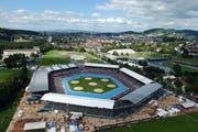 Das letzte Eidgenössische in der Zentralschweiz fand 2004 in Luzern statt. (Bild: Archiv Neue LZ)