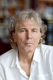 ... und Rolf Lappert können auf den Buchpreis hoffen. (Bild: Keystone)