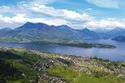 Blick auf die Gemeinde Meggen. (Bild: pd)