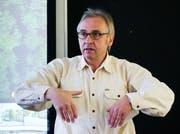 Geologe Beat Keller, CEO und Mitinhaber des Geotechnikunternehmens Keller+ Lorenz AG, Luzern. (Bild: Philipp Schmidli (Luzern, 19. Januar 2016))