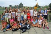 Der Blauring Schattdorf fühlte sich im diesjährigen Sommerlager sehr wohl. (Bild: PD)
