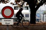 Solche Radfahrer hatten für einmal die ganze Aufmerksamkeit der Polizei in der Stadt Luzern. (Bild: Philip Schmidli / Neue LZ)