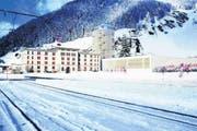 So könnte das neue Schneesportzentrum in Andermatt aussehen. (Bild: Visualisierung PD)