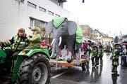 Elefanten-Zunft Roggliswil. (Bild: Manuela Jans)