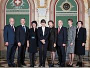 Ab November 2010 gab es erstmals eine Frauenmehrheit im Bundesrat – allerdings nur bis Ende 2011. (Bild: Monika Flückiger/Bundeskanzlei)