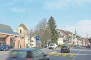 Der Kanton führt neue Lärmmessungen an der Grabenstrasse durch. (Bild: Maria Schmid/ZZ)