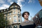Der Juso-Präsident der Stadt Luzern, Yannick Gauch, hat seinen Rücktritt bekannt gegeben. (Bild: Pius Amrein / Neue LZ)