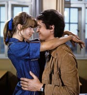 Nastassja Kinski und Christian Quadflieg als Schüler-Lehrer-Paar im «Tatort»-Klassiker «Das Reifezeugnis» (1977). (Bild: WDR)
