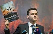 Der liberale Oppositionspolitiker Ilja Jaschin. (Bild: ALEXANDER ZEMLIANICHENKO (AP))