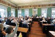 Wird der Kantonsrat künftig über die Amtsenthebung von Regierungsräten entscheiden? (Bild: Stefan Kaiser (Zug, 25. August 2016))