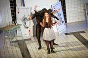 Das Neubad in Luzern hat sich zu einem beliebten Veranstaltungsort entwickelt. Im Bild: die Aufführung der Oper «Alice im Wunderland» am 27. Februar 2016. (Bild Boris Bürgisser)