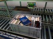 Die Speicherbibliothek in Büron mit dem millionsten Exemplar. (Bild: PD)