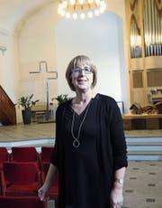 In der Kirche in Affoltern am Albis hält Monika Hirt die diesjährige Neujahrspredigt. (Bild: Werner Schelbert (Affoltern, 15. Dezember 2017),)