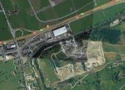 Zum Unfall kam es auf der Stanserstrasse vor der Verzweigung Kieswerk Ennerberg. (Bild: Google Maps)