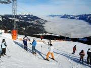 Skifahren auf der Mörlialp. (Bild pd)