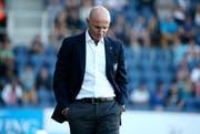 Elf Runden sind gespielt und noch kein Sieg auf dem Konto des FC Luzern. Der FCL reagiert und stellt wohl Cheftrainer Carlos Bernegger frei. (Bild: Philipp Schmidli)