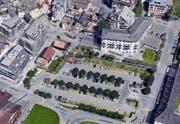 Mit einer Begegnungszone und einem Carwendeplatz soll die Verkehrssituation in Engelberg verbessert und die Sicherheit für Fussgänger erhöht werden. (Bild: Google Maps)