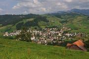 Blick auf die Gemeinde Entlebuch.