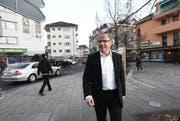 Matthias Senn (FDP) schaffte die Wiederwahl in den Krienser Gemeinderat auf Anhieb. (Bild: Manuela Jans/Neue LZ)