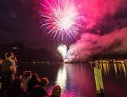 In Flüelen wird auch dieses Jahr wieder ein Feuerwerk zu sehen sein. (Archivbild Neue LZ)