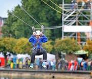 Am Zug Sports Festival können diverse Sportarten ausprobiert werden. (Archivbild Stefan Kaiser)