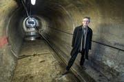 Die Stadt Luzern (im Bild Umweltdirektor Adrian Borgula) muss über 44 Millionen Franken in die Sanierung der Abwasserkanäle investieren. (Bild: Remo Nägeli / Neue LZ)