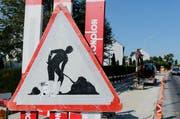 Im ganzen Kantonsgebiet wurden Baustellen kontrolliert. (Bild: Archiv Neue ZZ (Symbolfoto))