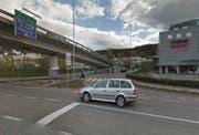 In diesem Bereich kam es zum Vorfall. (Bild: Screenshot Google Streetview)