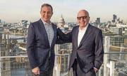 Disney-CEO Bob Iger (links) und Medienmogul Rupert Murdoch auf einem undatierten Bild. (Bild: Disney)
