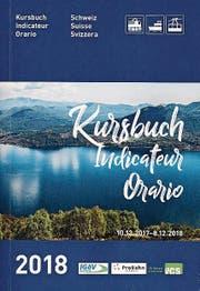 Titelbild des neuen Kursbuches, das es ab sofort zu kaufen gibt. (Bild: Stefan Kaiser (1. Dezember 2017))