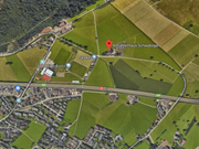 Das Gebiet Schwybogen in Stans. (Bild: Google Maps)