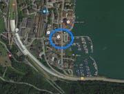 Die Unfallstelle in Hergiswil. (Bild: Google Maps)