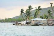 Karibikküste in Corail. Die 30 000-Einwohner-Stadt leidet unter den Folgen des Hurricans. Florian Kopp/SRK (Bild: Florian Kopp/SRK)