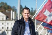 FDP-Ständerat Damian Müller. (Bild: Dominik Wunderli / Neue LZ)