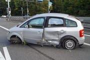 Verletzt wurde beim Unfall niemand. (Bild: Zuger Polizei)