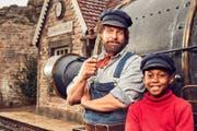 Begeistern: Henning Baum (links) und Solomon Gordon in den Hauptrollen. (Bild: Warner Bros.)