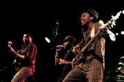 Das war 2014: Die Mokoomba Band aus Zimbabwe an den Stanser Musiktagen. (Bild: Nadia Schärli / Neue NZ)