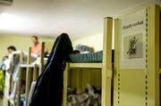 Blick in die Asylunterkunft Dagmersellen am Tag der offenen Tür im März dieses Jahres. (Bild: Philipp Schmidli)