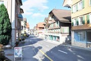 So sieht es heute in Entlebuch entlang der Hauptstrasse aus. (Bild: PD)