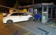 Die Unfallstelle in Sempach. (Bild: PD/Luzerner Polizei)