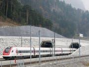 Der Gotthard-Basistunnel als Symbol für die gute Infrastruktur der Schweiz: Diese ist laut dem neusten IMD-Report einer der Garanten für die Wettbewerbsfähigkeit des Landes. (Bild: KEYSTONE/ALEXANDRA WEY)