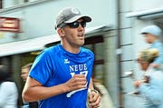 Thomas Holenweger beim Zieleinlauf. (Bild Claudia Surek)